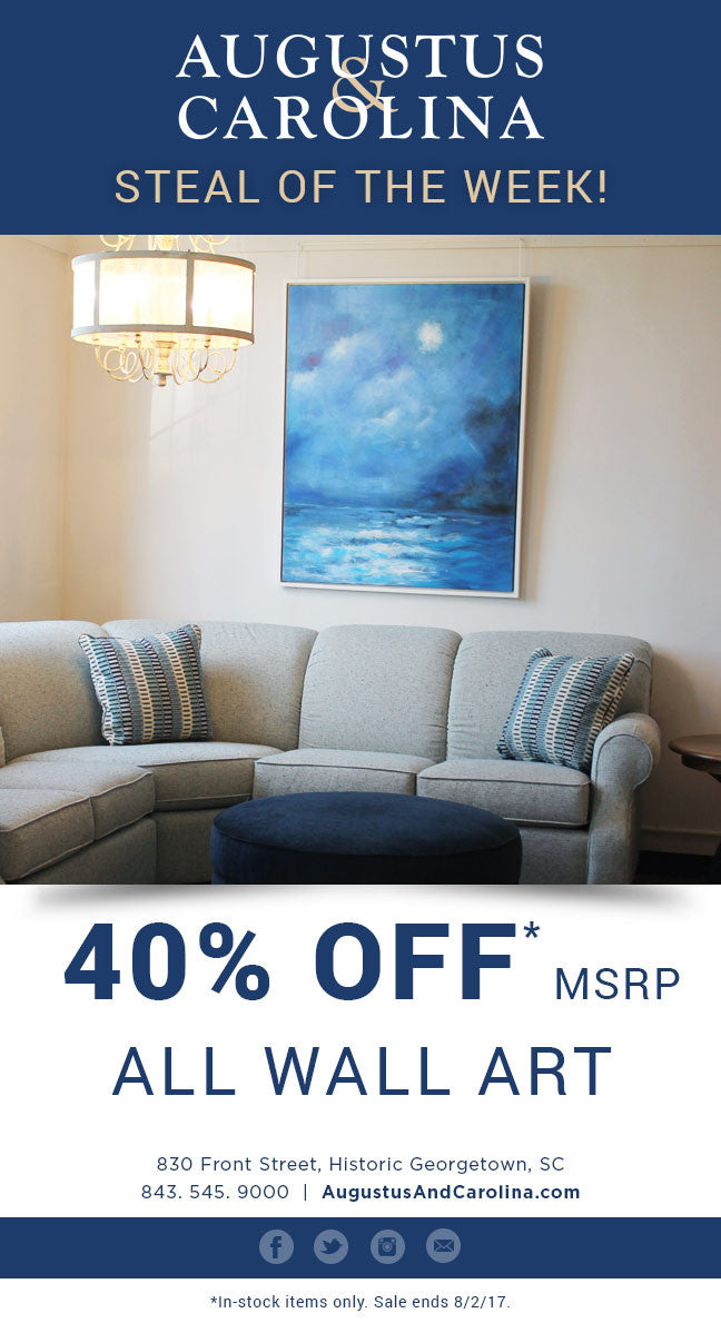40% Off All Wall Art