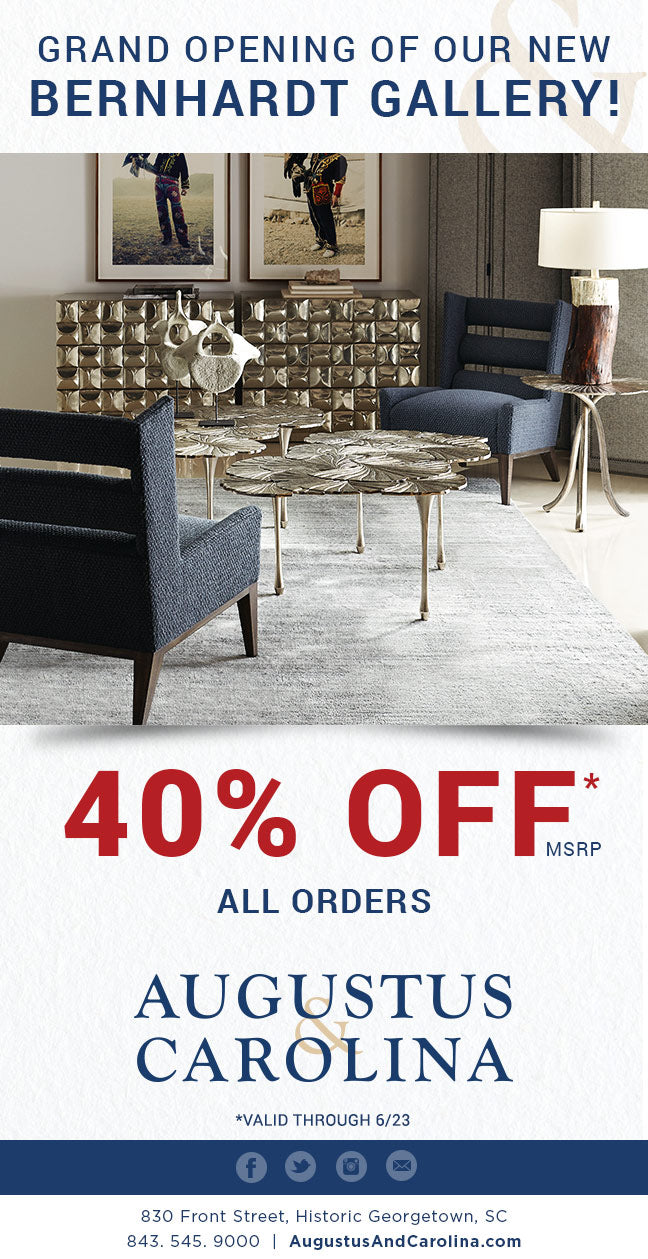 Get 40% Off our New Bernhardt Gallery