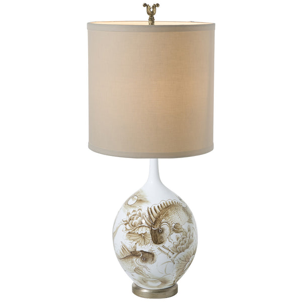 Sepia Pond Lamp