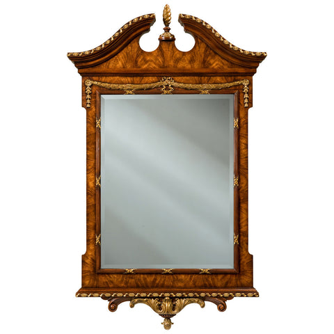 The India Silk Bedroom Mirror