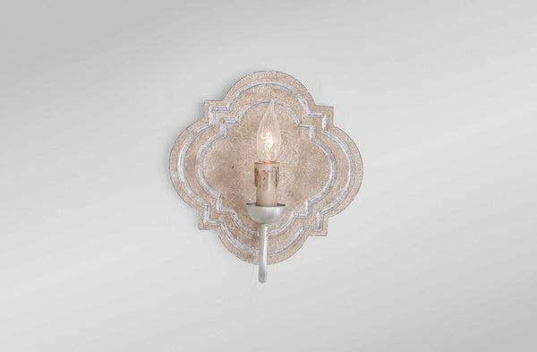 Irving Silver Sconce