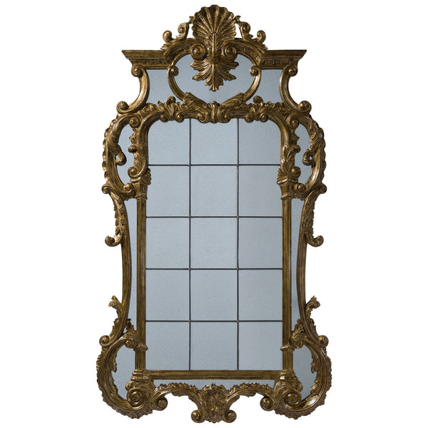 The Linnell C Scroll Mirror