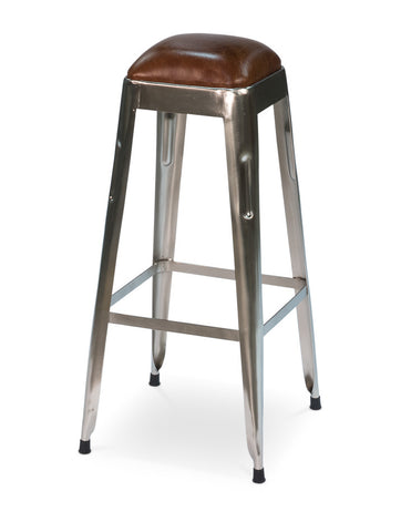 Metal Press Bar Stool