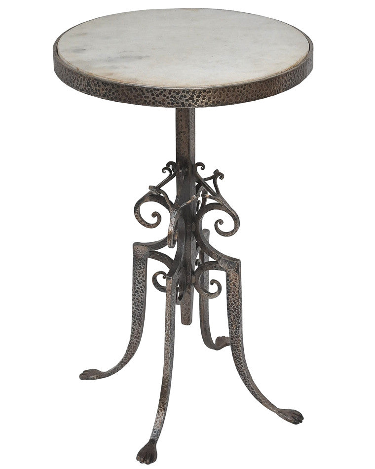 Marble Top Wine Table