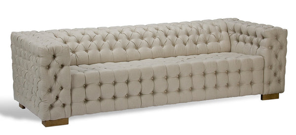 Button Tufted 6 Place Sofa