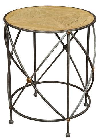 Drum & Fife Lamp Table