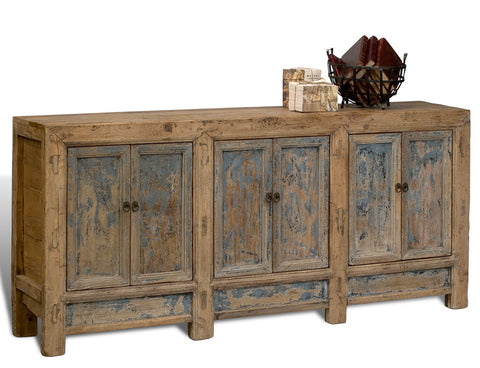 Gansu Cabinet, Six Door, Pine