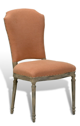 Emilion Dining Side Chair, Old Red
