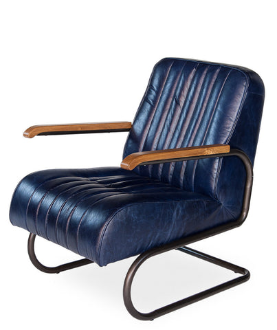 Bel-Air Arm Chair, Blue