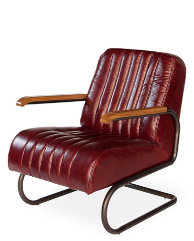 Bel-Air Arm Chair, Red