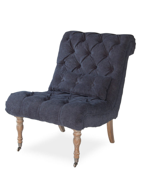 Boudoir Chair, Midnight