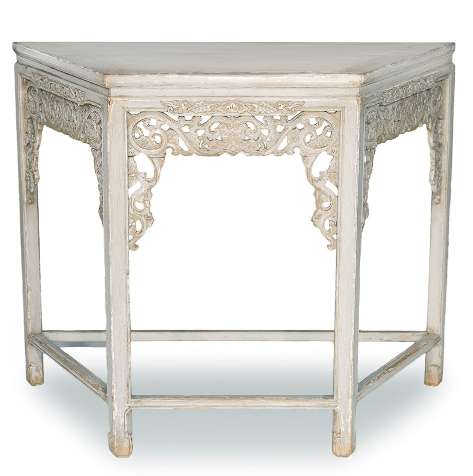 Replica Carving Wall Table, Light