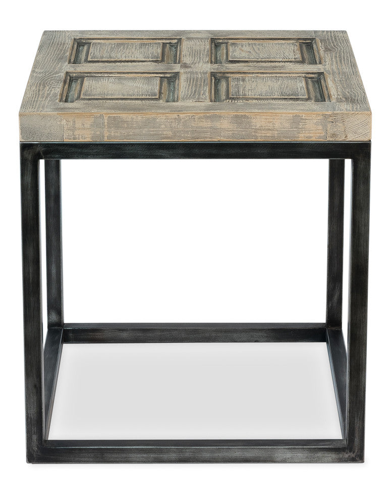 Iron Frame Side Table