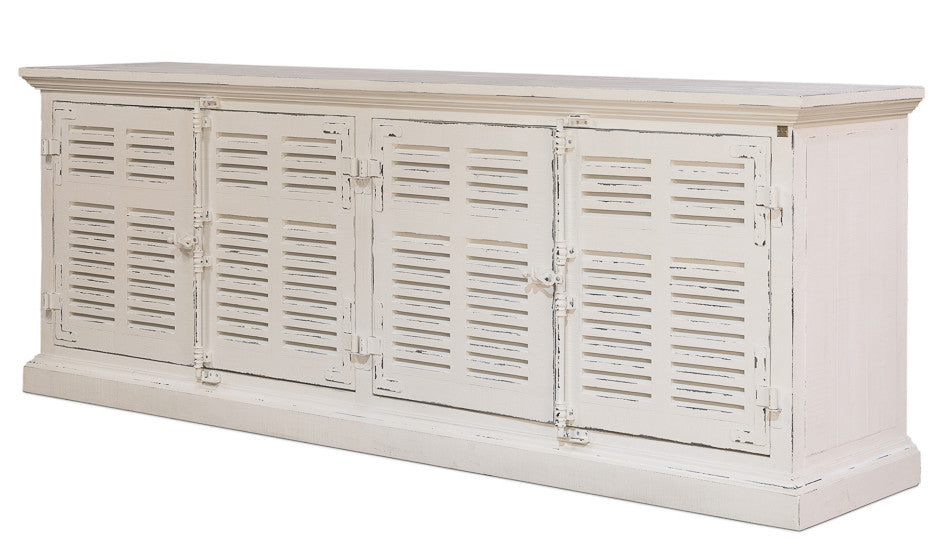 Palm Beach Louvered Sideboard