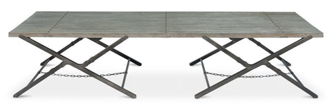 Campaign Low Folding Table