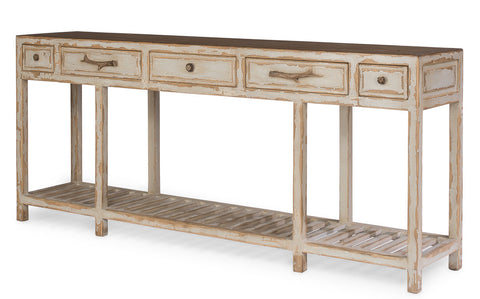 Cabot Lodge Console, Natural