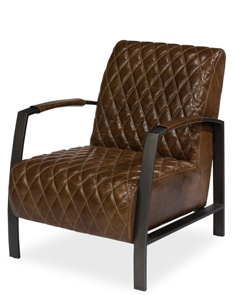 Diamond Quilt Lobby Chair