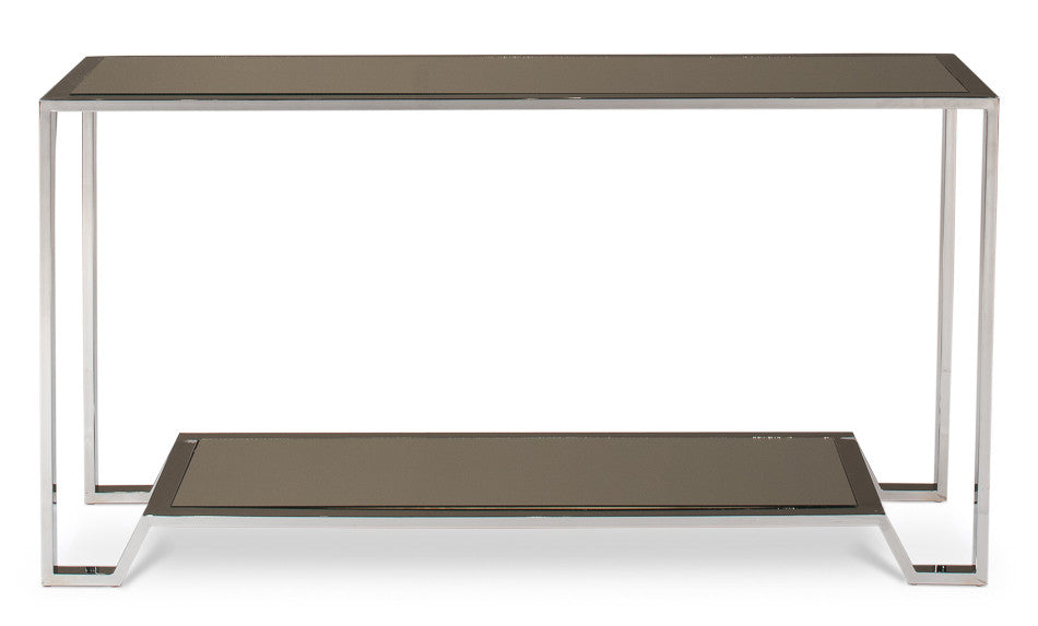 East End Stainless Steel Console Table