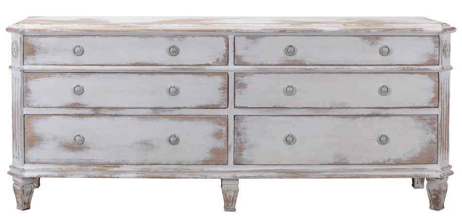 Double Swedish Chest Of Drawers