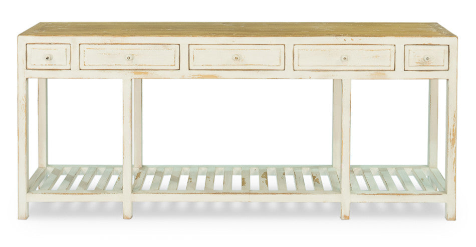 Cabot Lodge Console, White