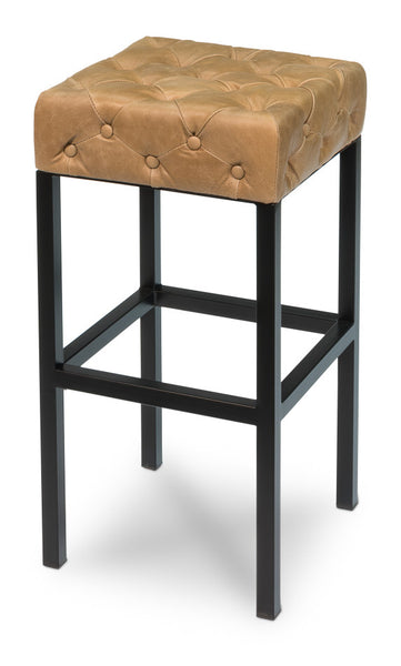 Douglas & David Bar Stool, Light Brown