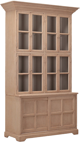 Tall Glass Cabinet