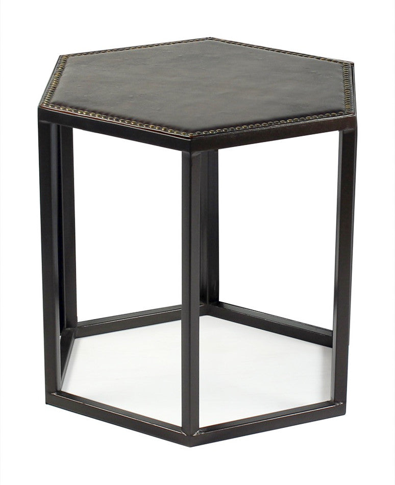 Mallen Leather Stool