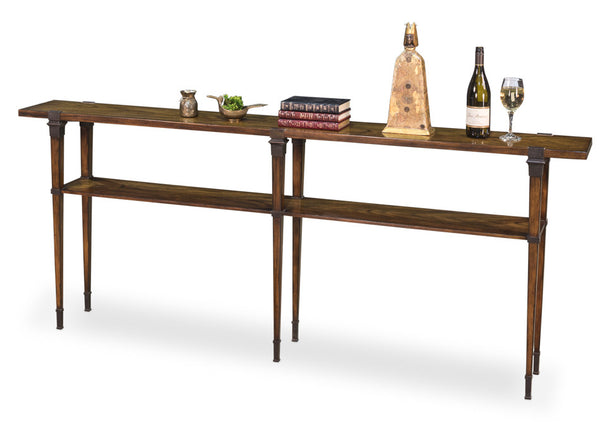 Boulevard Console Table, Dark Walnut