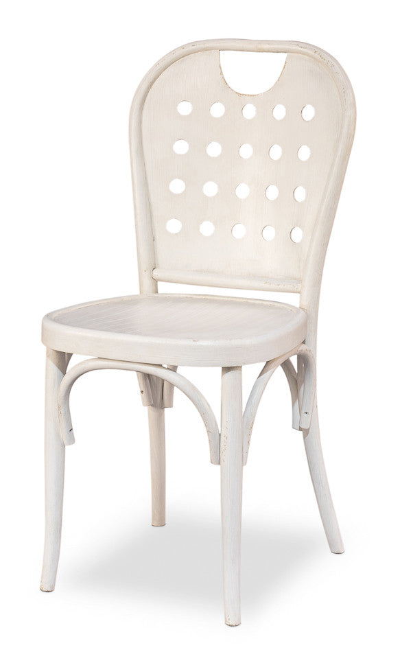 Bentwood Cafe Chair, Stucco White