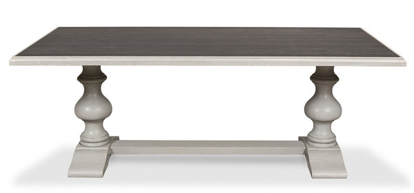 Lionisio Dining Table, Ceramic, Gray