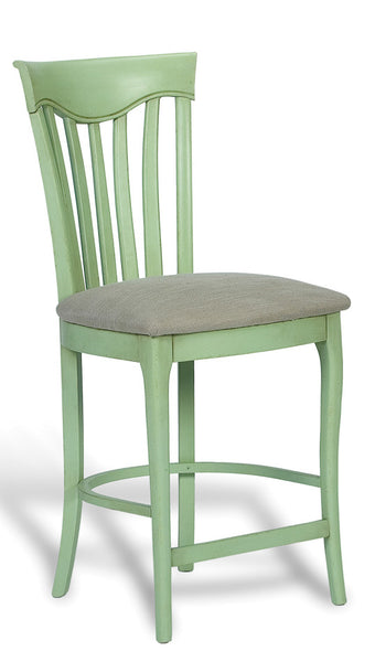 Counter Stool, Lake Green