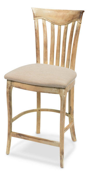 Counter Stool, Antiqued Oak