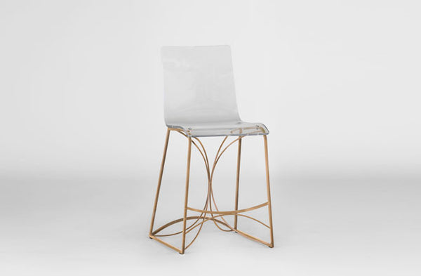 Angela Counter Stool Gold