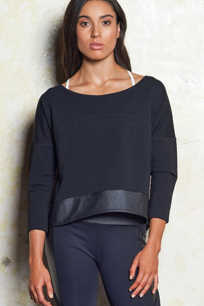 Em Luxe Sweat | Black | M-Active