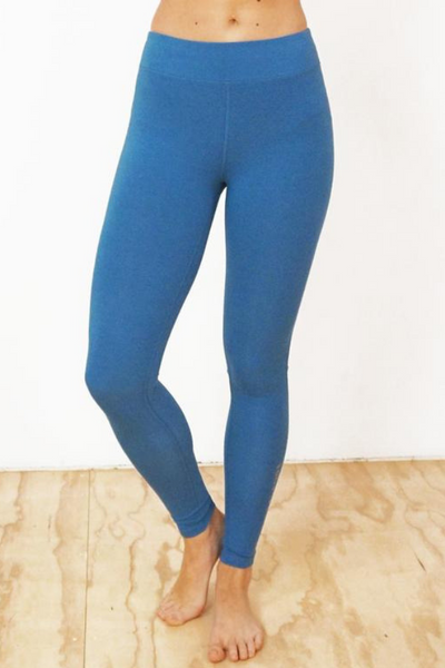 Azure Bamboo Leggings | Yogi Peace Club