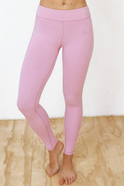Blush Bamboo Leggings | Yogi Peace Club