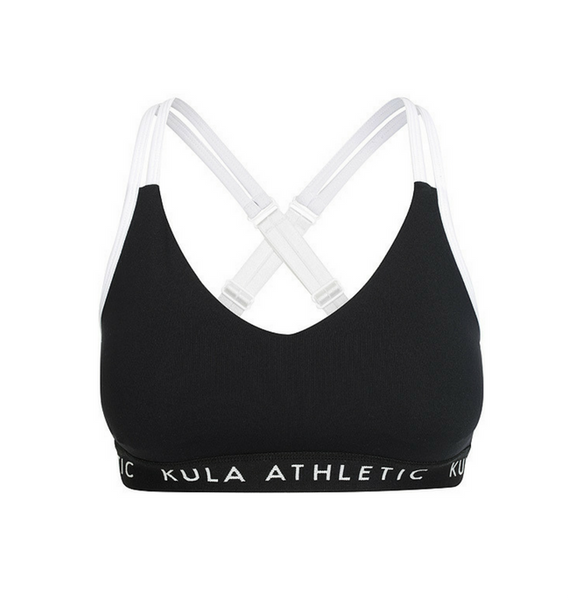 Coco & Milly Bra | Black | Kula Athletic