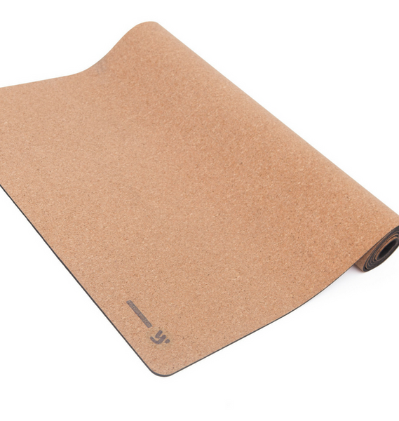 Neutral & Natural Cork Yoga Mat | Yellow Willow Yoga