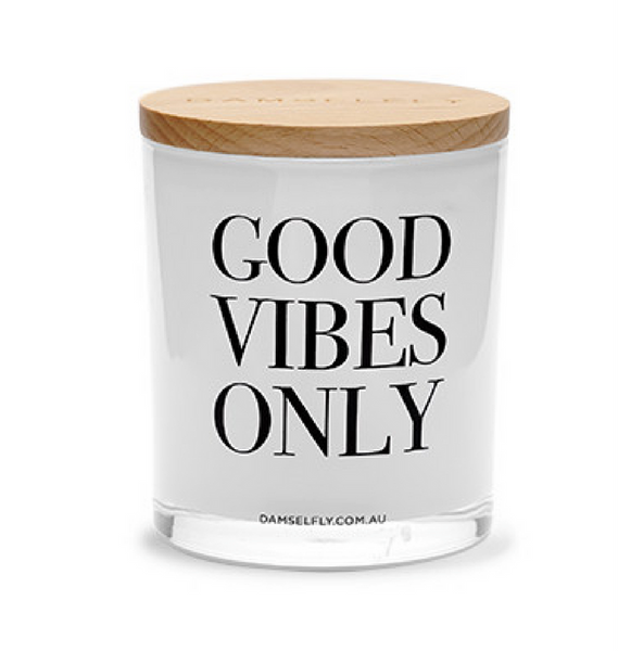 Good Vibes Only - Damselfly Scented Candle