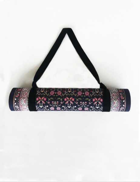 Lotus Pink Yoga Mat Grip + | Yogi Peace Club