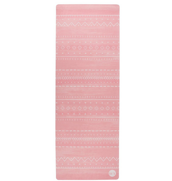 Pink Sunrise Luxury Yoga Mat | Wandering Yogi
