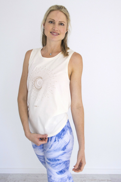 Sun & Moon | Tank Top Natural | Wild Yogi