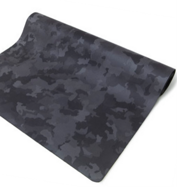 XL Yoga Mat: Camo | Yellow Willow Yoga