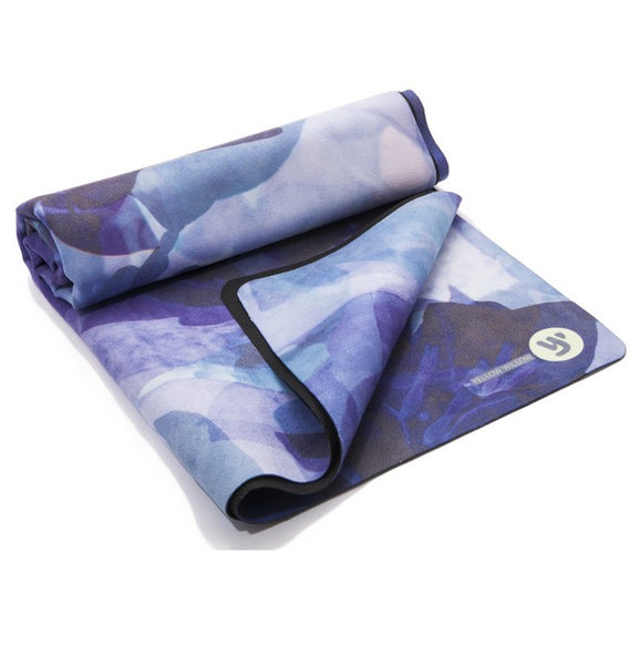 Violet Yoga Towel | Yellow Willow Yoga