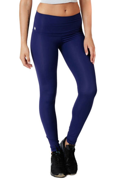 Havana Compression Legging | Blue | Kula Athletic