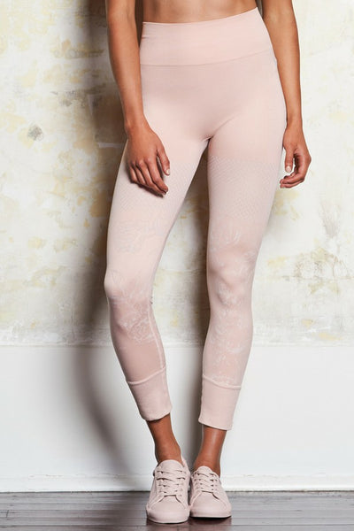 Erica Seamless Tights | Dusty Rose | M-Active