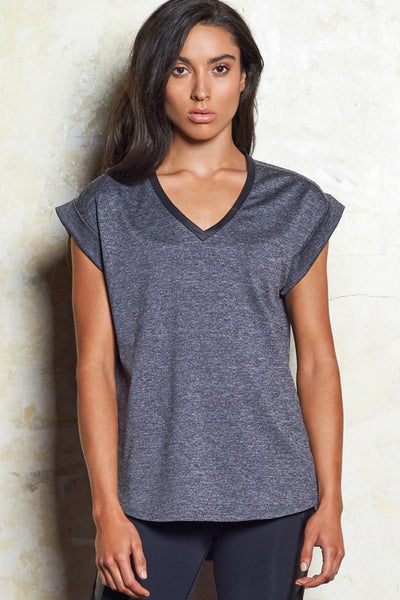 Vera Luxe Layer Tee | Greymarle | M-Active