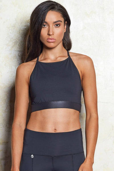 Isla Leather Look Crop