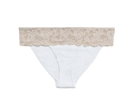 Astrid brief panty champagne white