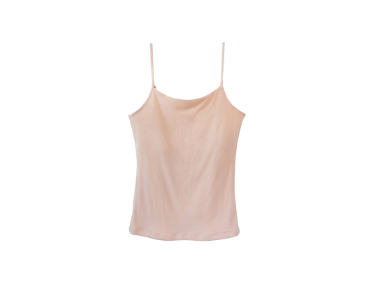 Maia camisole blush drain pockets